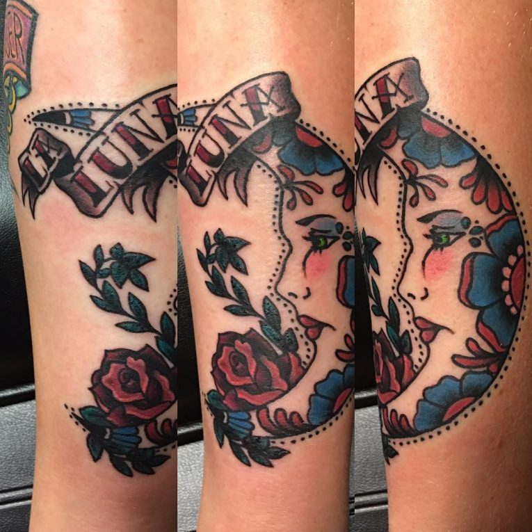 Moon Tattoo 117