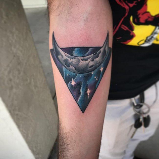 Moon Tattoo 99