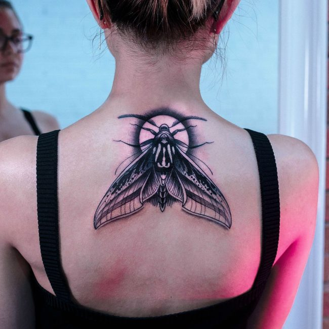 Moth Tattoo 66