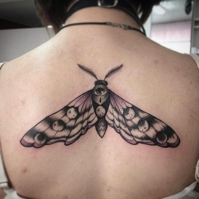 Moth Tattoo 67