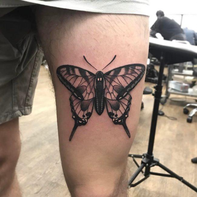 Moth Tattoo 69