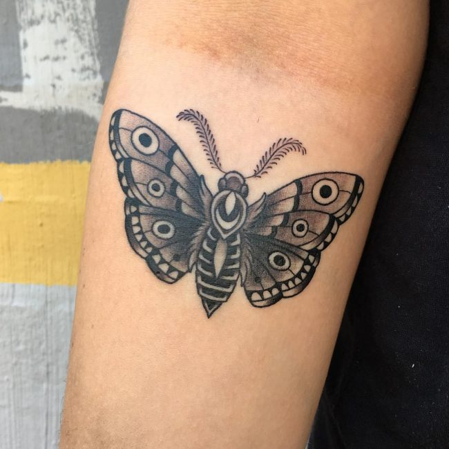 Moth Tattoo 70
