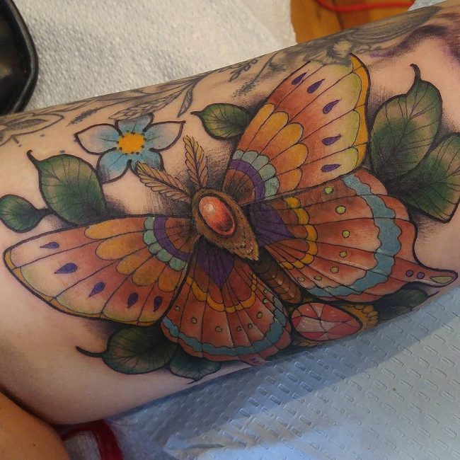 Moth Tattoo 71
