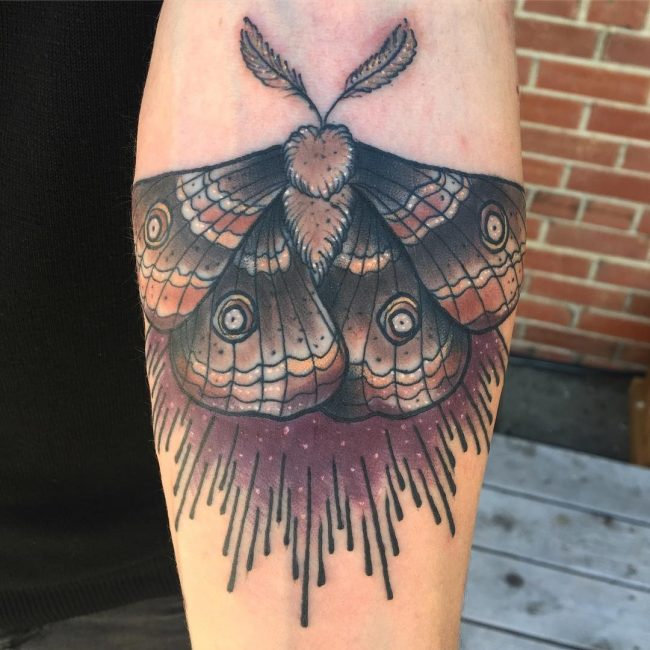 Moth Tattoo 72