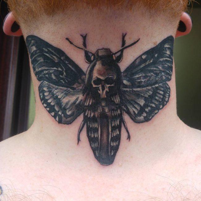 Moth Tattoo 73