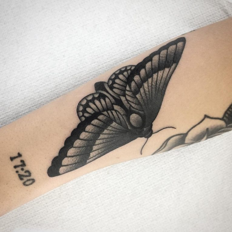 Moth Tattoo 76