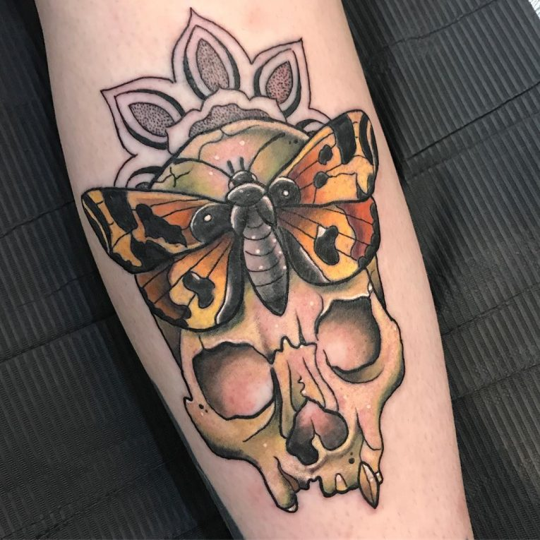 Moth Tattoo 77
