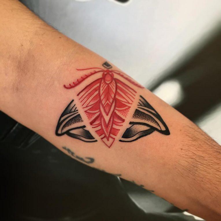 Moth Tattoo 78
