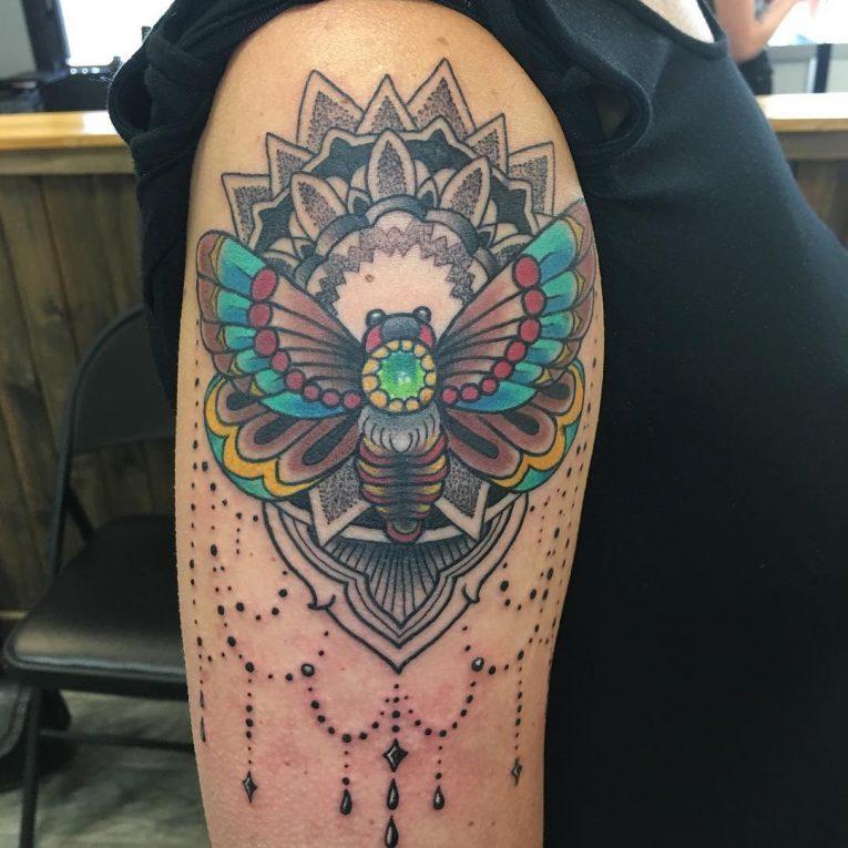 Moth Tattoo 80