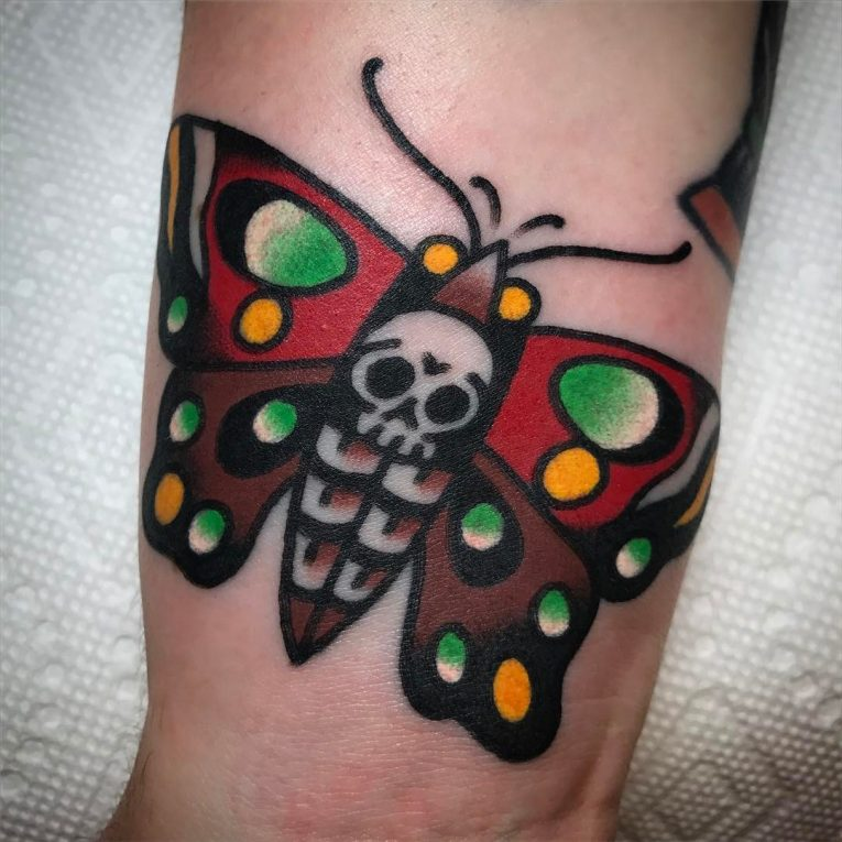 Moth Tattoo 81