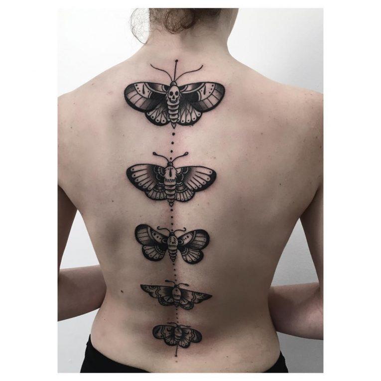 Moth Tattoo 82