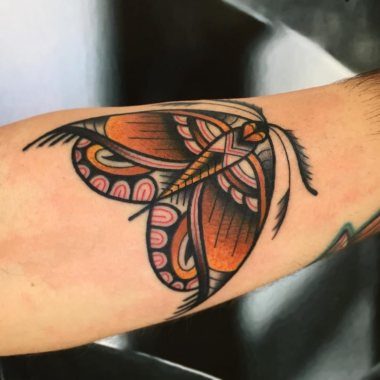 Moth Tattoo 83