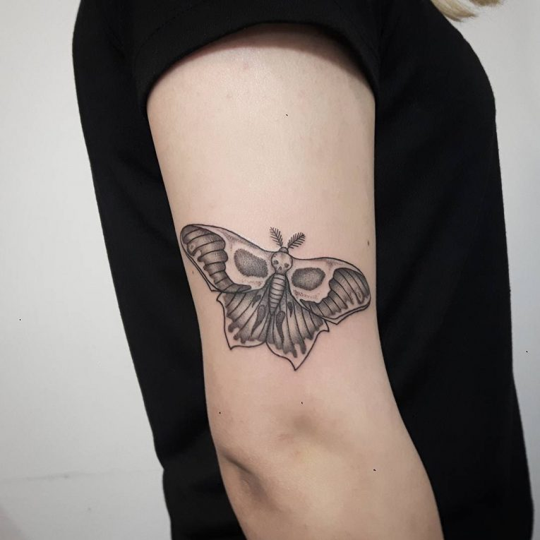 Moth Tattoo 84