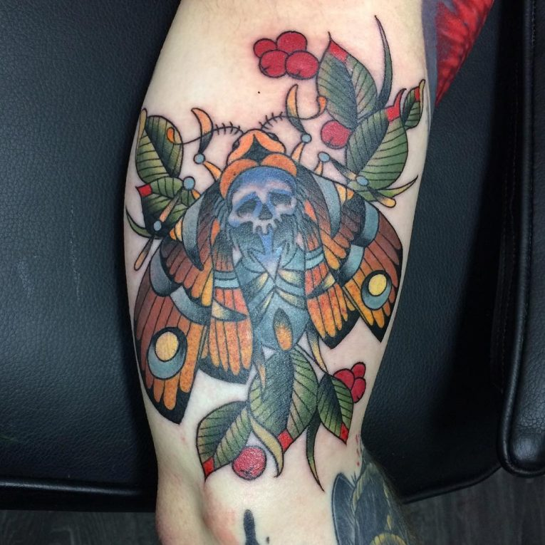 Moth Tattoo 85