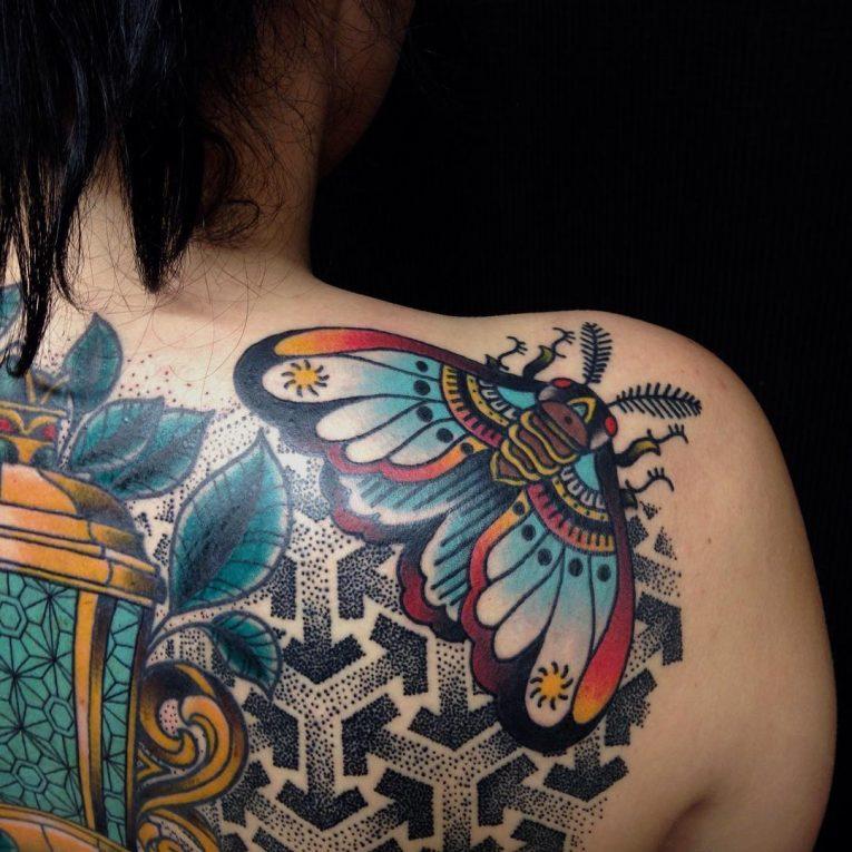Moth Tattoo 87