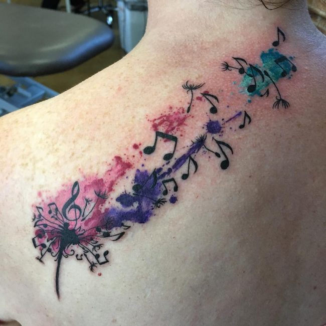Music Note Tattoo 57