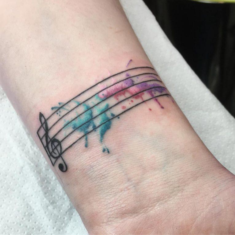 Music Note Tattoo 66