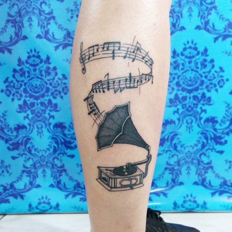 Music Note Tattoo 72