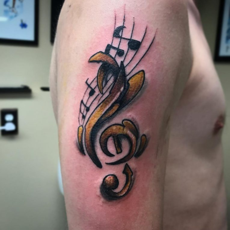 Music Note Tattoo 73
