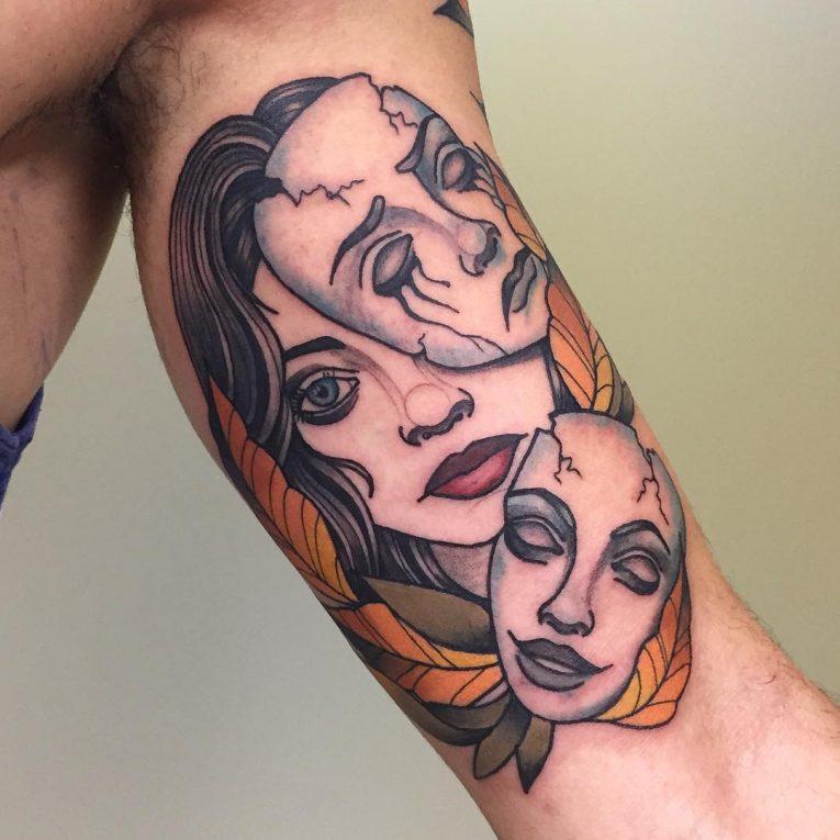 Neo-Traditional Tattoo 51