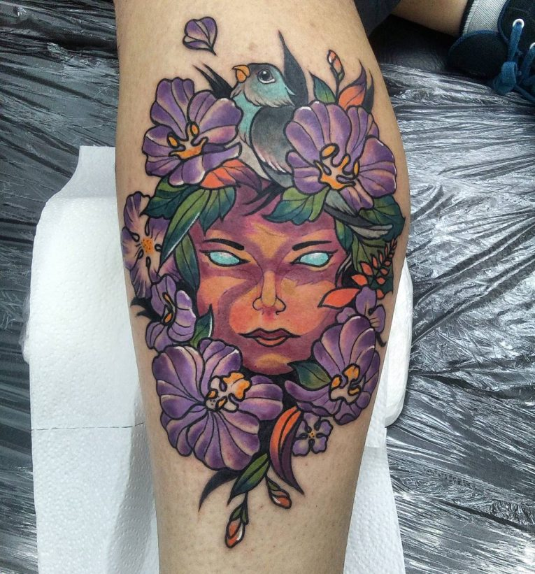 Neo-Traditional Tattoo 53