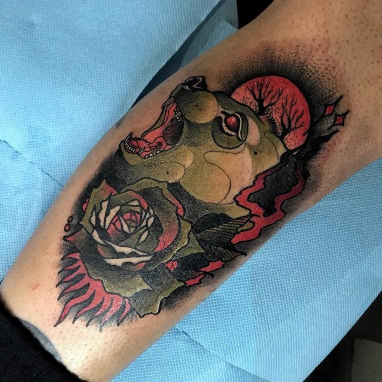 Neo-Traditional Tattoo 58