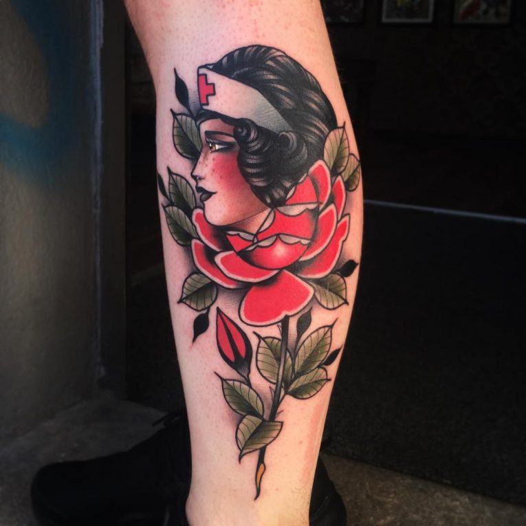 Neo-Traditional Tattoo 59