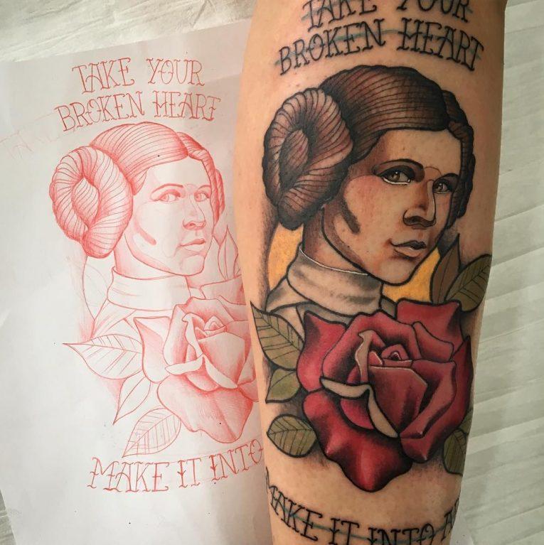 Neo-Traditional Tattoo 60