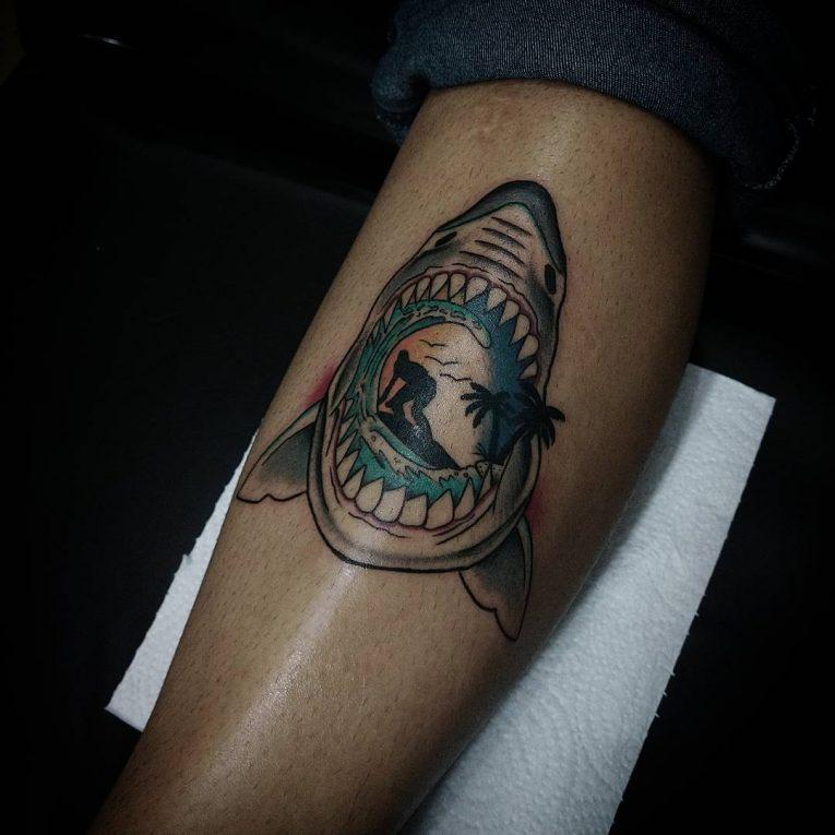 Neo-Traditional Tattoo 61