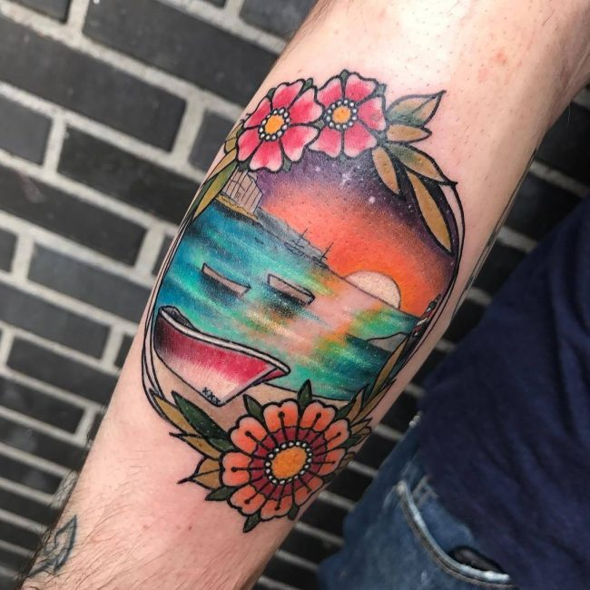 Ocean Tattoo 54