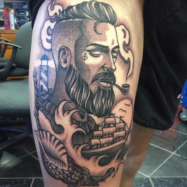 Ocean Tattoo 55