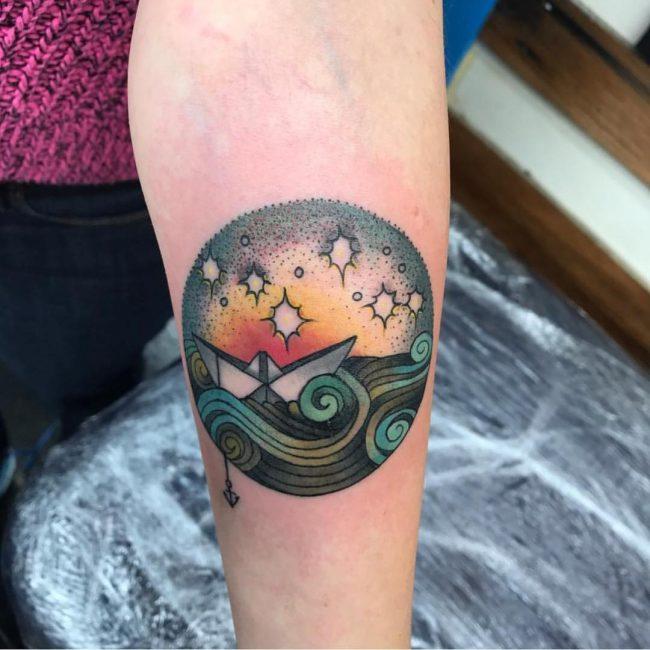 Ocean Tattoo 57