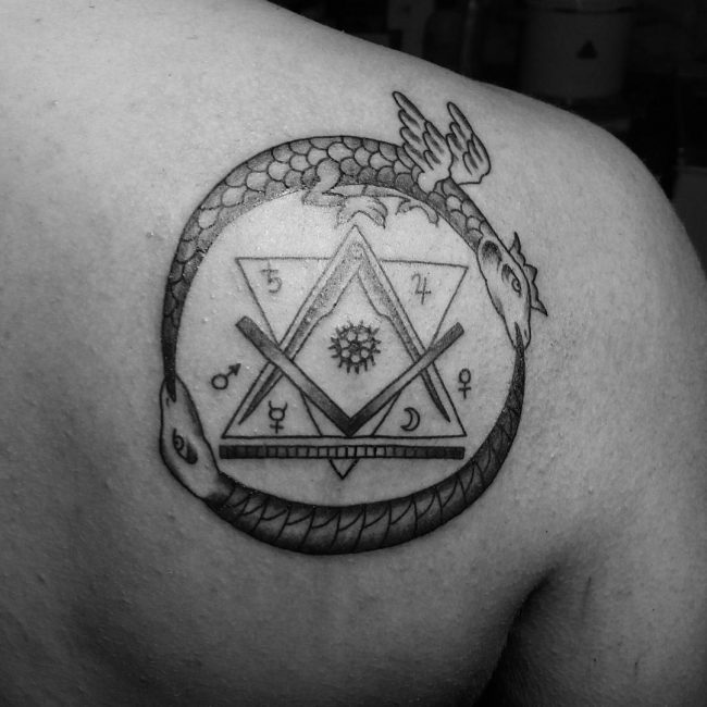 Ouroboros Tattoo 42