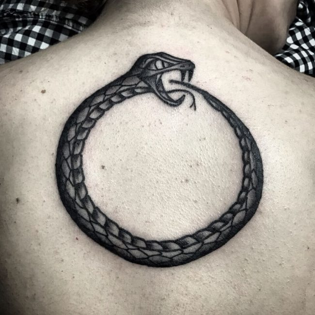 60 Mythical Ouroboros Tattoo Ideas What Goes Around Comes Around