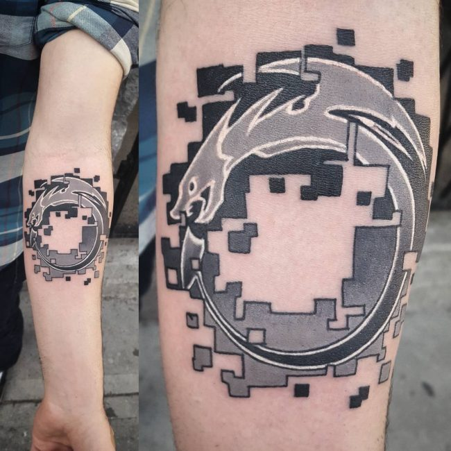 Ouroboros Tattoo 45