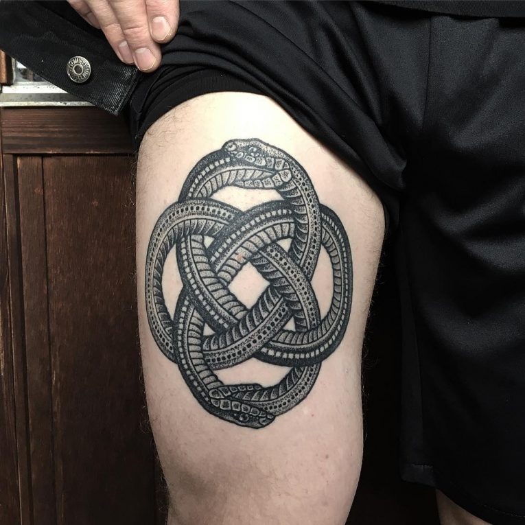 Ouroboros Tattoo 52