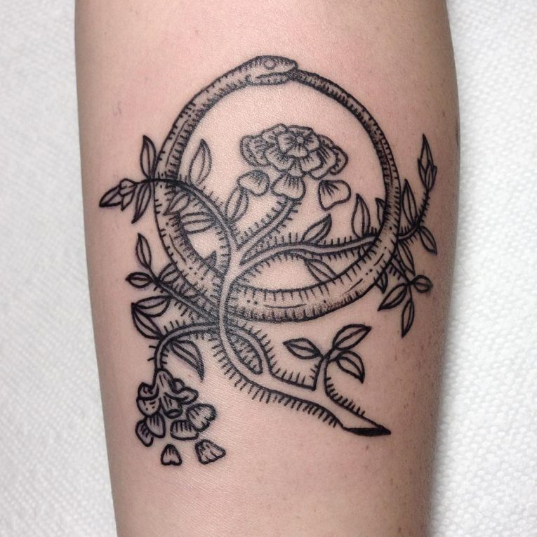 Ouroboros Tattoo 55