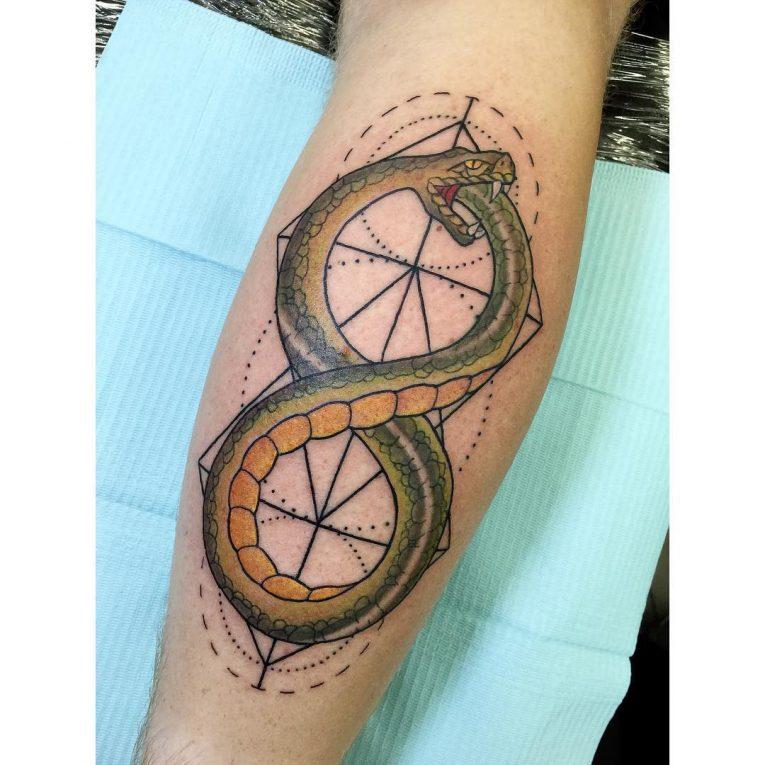 Ouroboros Tattoo 58
