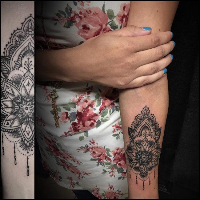 Paisley Tattoo 36