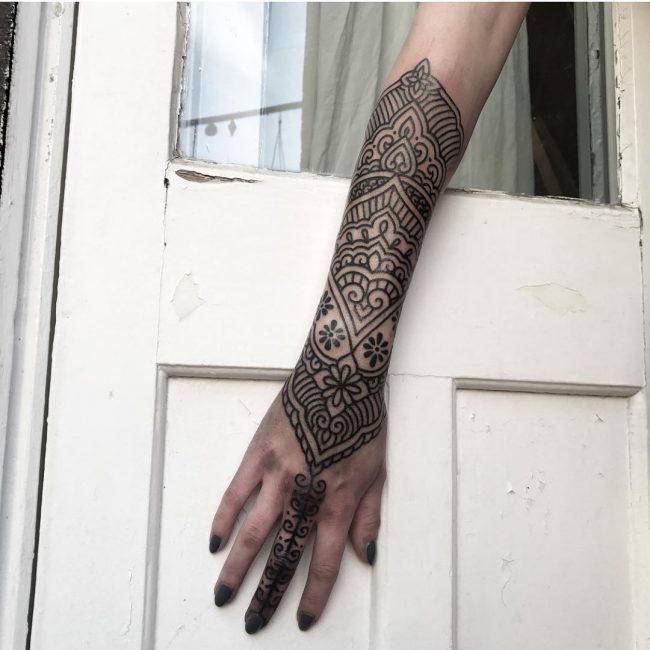 Paisley Tattoo 39