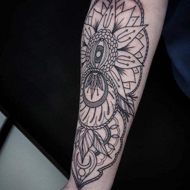 Paisley Tattoo 44