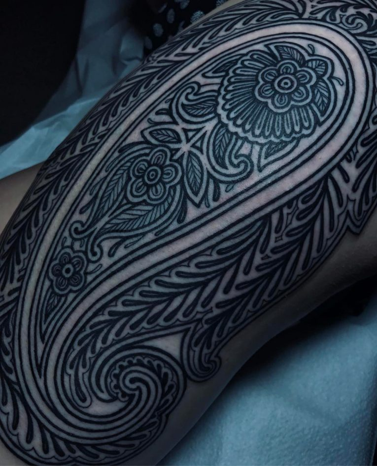 Paisley Tattoo 46