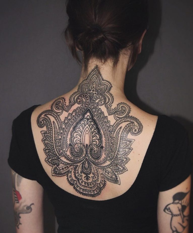 Paisley Tattoo 47