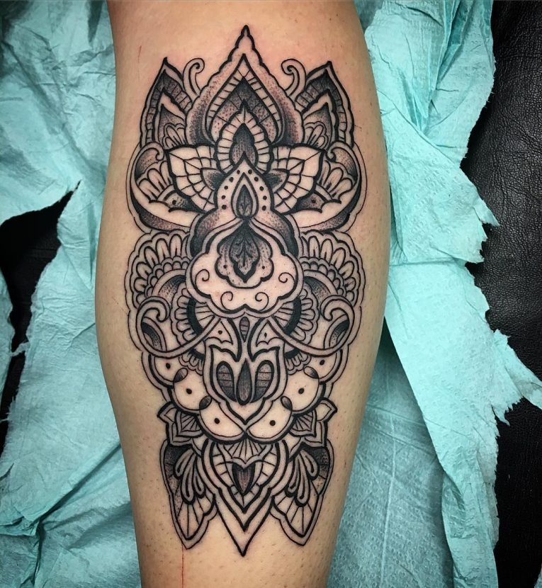 Paisley Tattoo 49