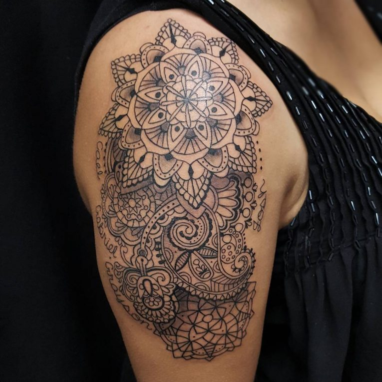 Paisley Tattoo 52