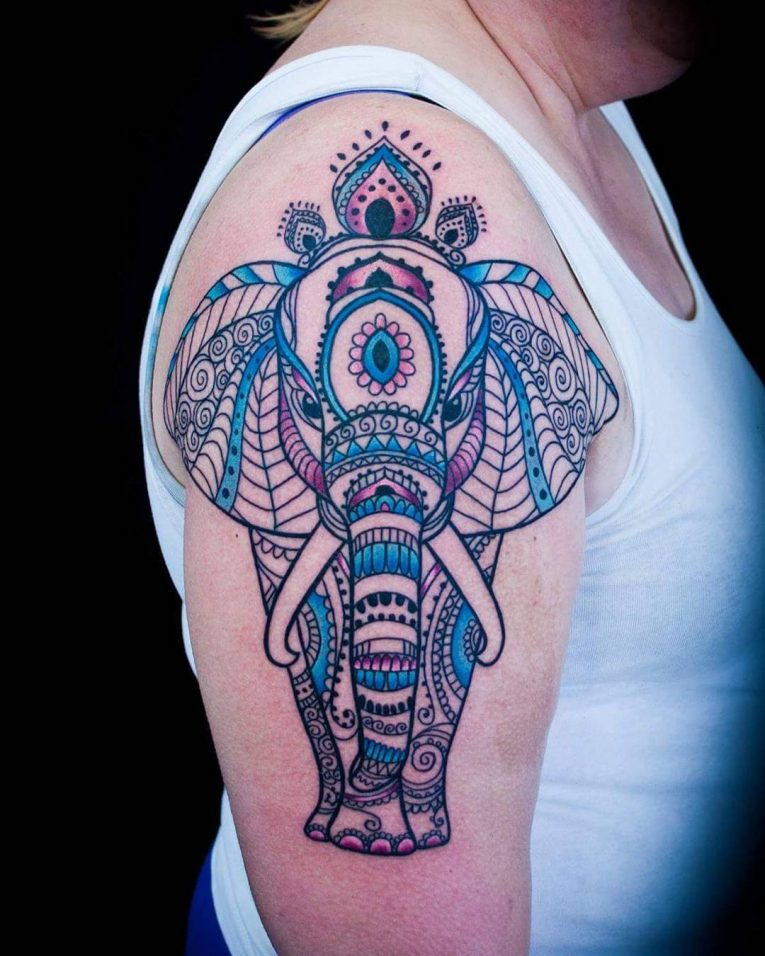 Paisley Tattoo 54