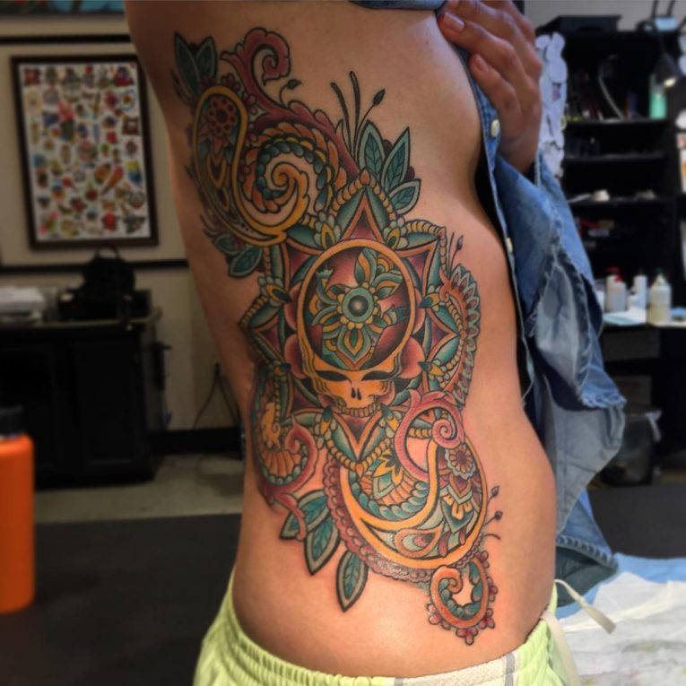 Paisley Tattoo 56