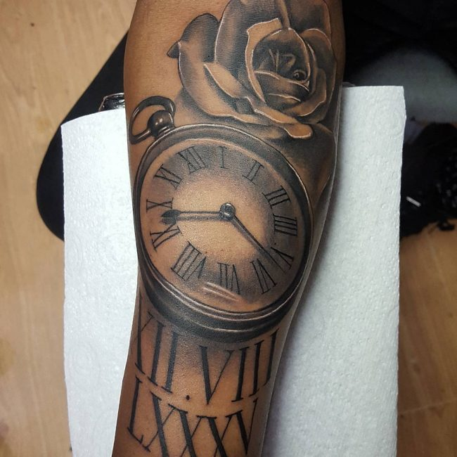 Pocket Watch Tattoo 109