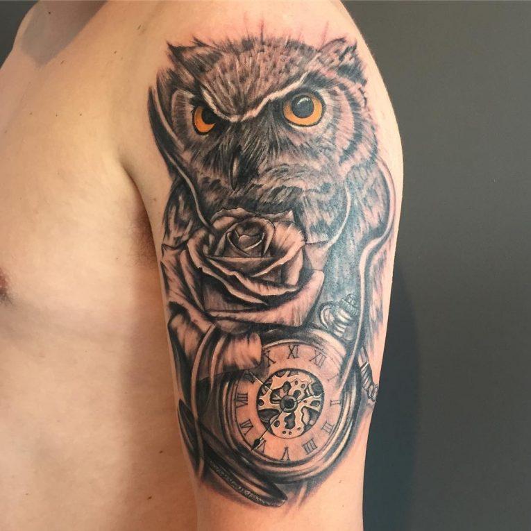 Pocket Watch Tattoo 119