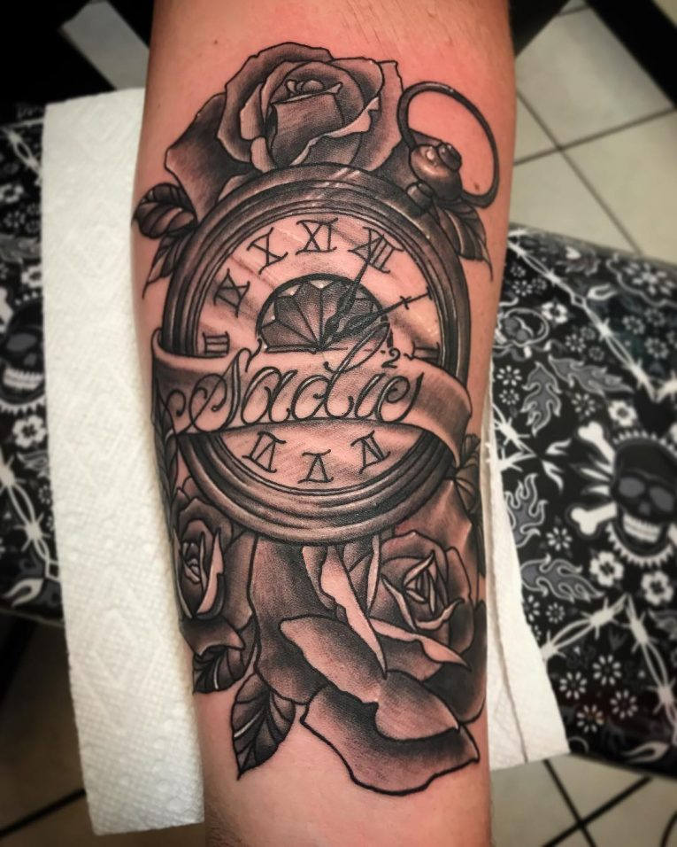 125 timeless pocket watch tattoo ideas a classic and
